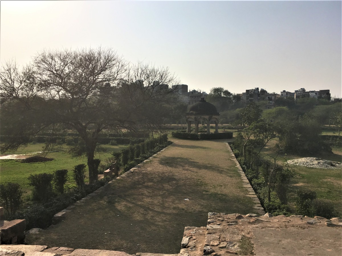Mehrauli Archaeological Park, New Delhi - 77.7%
